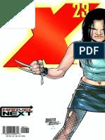 X-23 - Inocencia Perdida 01