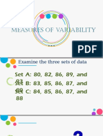 Lecture 9 Measures of Variability