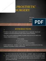 Preprosthetic  Surgery