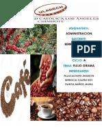 Flujograma Produccion de Cafe
