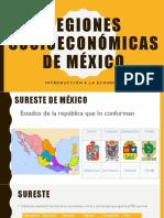 regiones socioeconómicas de México