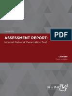 RSL Network Pentest Sample Report