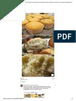 Receitas de cupcake... Neste post aprenda a fazer uma receita de massa de cupcake simples, rápida e fácil. Essa é uma receita de liquidificador.pdf