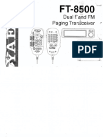 FT-8500 Operators Manual