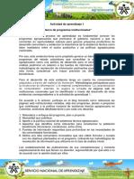 Evidencia 6 Blog Banco