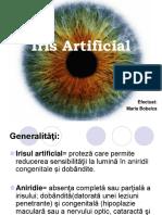 Irisul artificial