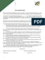 Carta Bienvenida 2019-2020