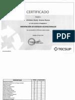 Certificados de estudios