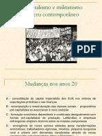 Militarismo e Nacionalismo No Peru Contemporâneo