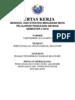 Kertas Kerja Cgu Amit p3 2019