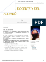 Rol Del Docente y Del Alumno_ Conductismo
