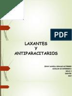 laxantes y antiparacitarios