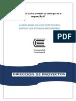 Miguel Eduardo Taipe Pacheco-direccion de Proyectos