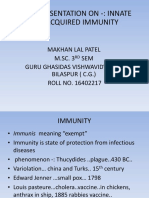 Innate and Acquired Immunity
