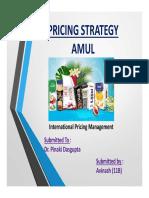 Pricing Managment