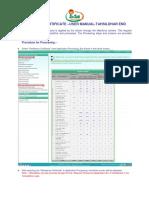 MEESEVA User Manual for DEPT Ver 1.6-Residence