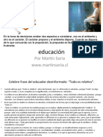 NUEVO PLANTEAMIENTO EDUCATIVO