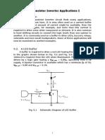 9 Transistor Inverter Applications I