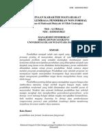 07. Pembinaan Karakter Masyarakat Melalui Lembaga Pendidikan Non Formal