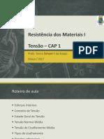 Resistência dos Materiais - Tensão