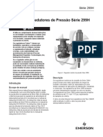 299h Série Reguladores Redutores de Pressão Manual de Instruções Br 299h Series Pressure Reducing Regulator Instruction Manual Pt 4973094