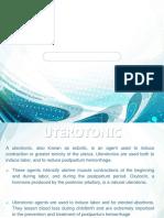 Presentation3.Pptx OBG DRUGS
