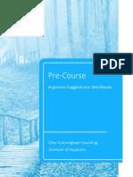 Unconscious Goal Installation - Workbook