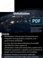 Globalisation(Meaning,Implications,Drivers)