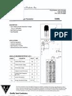 Transistor D209