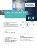 SIPROTEC DigitalTwin Profile
