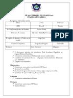 Lista-de-utiles-escolares-4°-Medio-2019
