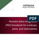 pentaho data integration Lookups