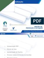Aula2-MRP-Planejamento de Necessidades de Materiais