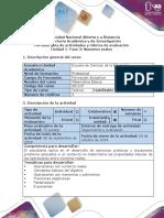 Guía de actividades y rúbrica de evaluación - Fase 2 - Números Reales.pdf
