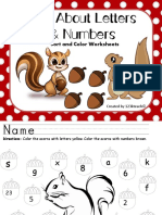Nuts About Letters Numbers