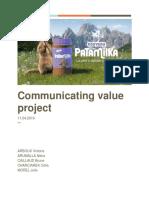 Communicating Value- Patamilka