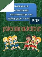 Actividades de psicomotricidad para niños