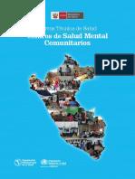 Norma Técnica de Salud Centro de Salud Mental Comunitarios-Perú