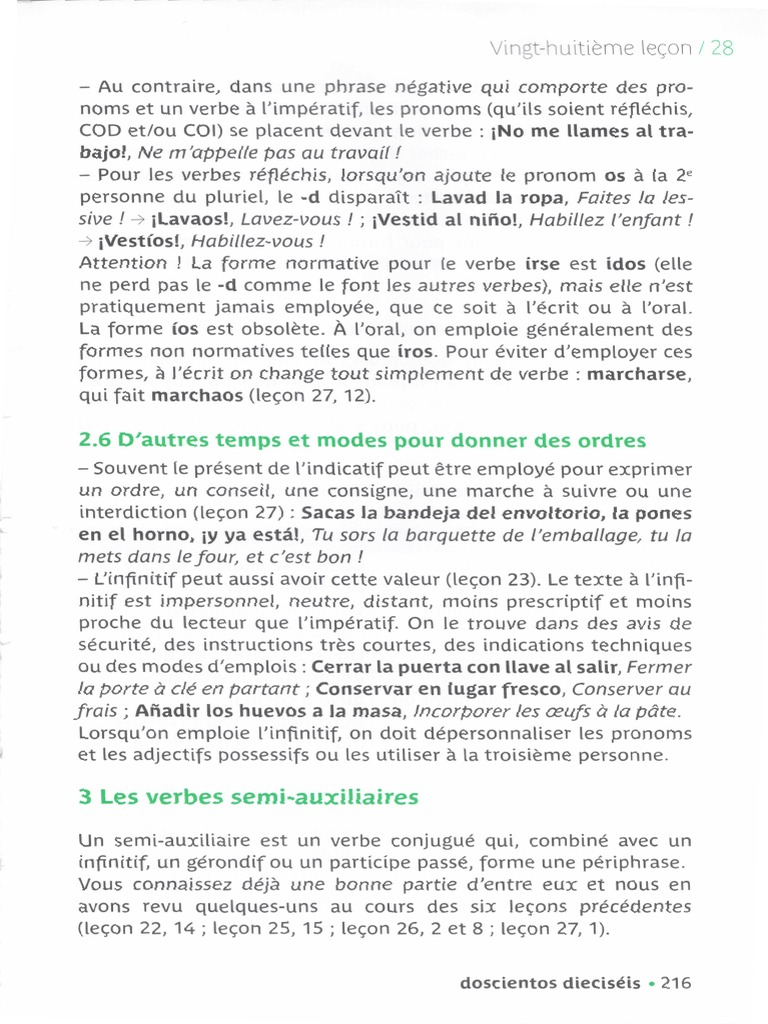 Espagnol C1 Part4