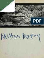 AVERY, Milton. Grabados