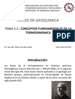 2.1. Conceptos Fundamentales de Termodinamica