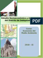 Estudio Socioeconómico y Ambiental del Distrito de Independencia