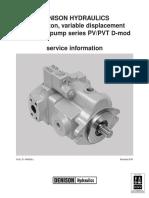 Denison PV PVT Service