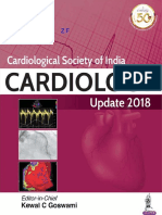 Cardiological Society of India Cardiology Update 2018, Kewal C. Goswami, Jaypee Bros., 1st Edition 2018.pdf