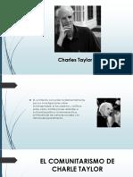 Exposicion Charle Taylor