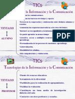 TICS IEM Ventajas Desventajas Tics