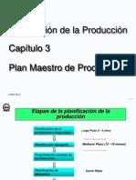 Cap 3 - PP - Plan Maestro Produccion