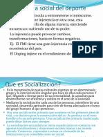 La Injerencia Social Del Deporte