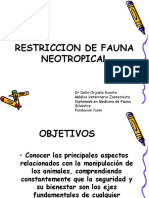 Restriccion Fauna Neotropical