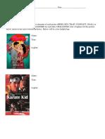 movie poster worksheet